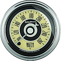 Autometer 1154 Water Temperature Gauge - Electric Digital Stepper Motor, Universal, Sold individually