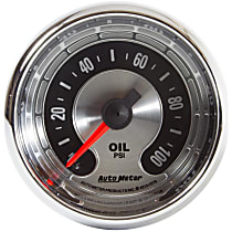 Autometer 1219 Oil Pressure Gauge - Mechanical, Universal, Sold individually