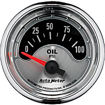 1226 Oil Pressure Gauge - Electric Air-Core, Universal, Sold individually