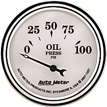 Autometer 1227 Oil Pressure Gauge - Electric Air-Core, Universal, Sold individually
