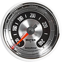 Autometer 1232 Water Temperature Gauge - Mechanical, Universal, Sold individually