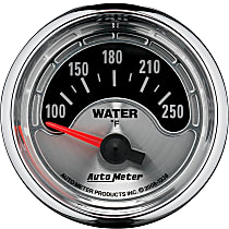 Autometer 1236 Water Temperature Gauge - Electric Air-Core, Universal, Sold individually