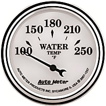 Autometer 1237 Water Temperature Gauge - Electric Air-Core, Universal, Sold individually