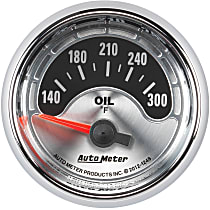 1248 Oil Temperature Gauge - Electric Air-Core, Universal