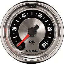Autometer 1253 Oil Pressure Gauge - Electric Digital Stepper Motor, Universal, Sold individually