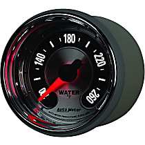Autometer 1255 Water Temperature Gauge - Electric Digital Stepper Motor, Universal, Sold individually