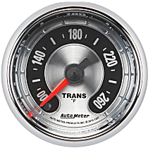 Autometer 1257 Transmission Temperature Gauge - Electric Digital Stepper Motor, Universal