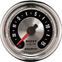 Autometer 1258 Boost Gauge - Electric Digital Stepper Motor, Universal, Sold individually