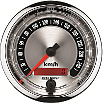 Autometer 1288-M Speedometer - Electric, Universal, Sold individually