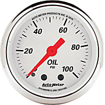 1321 Oil Pressure Gauge - Mechanical, Universal, Sold individually