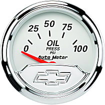 Autometer 1327-00408 Oil Pressure Gauge - Electric Air-Core, Universal, Sold individually