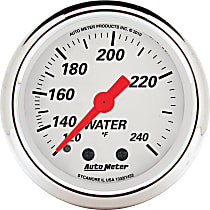 Autometer 1332 Water Temperature Gauge - Mechanical, Universal, Sold individually