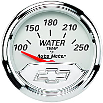 Autometer 1337-00408 Water Temperature Gauge - Electric Air-Core, Universal, Sold individually