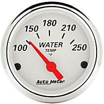 Autometer 1337 Water Temperature Gauge - Electric, Universal, Sold individually