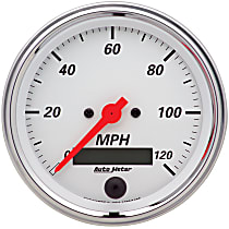 Autometer 1380 Speedometer - Electric, Universal, Sold individually