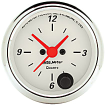 Autometer 1385 Clock - Electric, 12 Hour, Universal