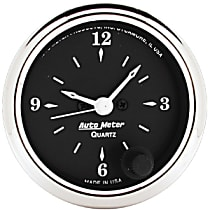 Autometer 1785 Clock - Electric, 12 Hour, Universal