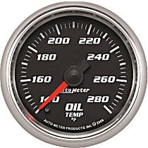 Autometer 19640 Oil Temperature Gauge - Digital Stepper Motor, Universal