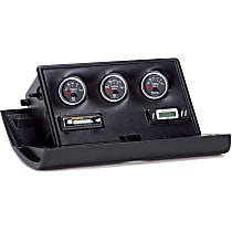 Gauge Pod - Black, Plastic, Direct Fit, Sold individually