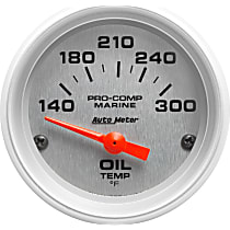 Autometer 200764-33 Oil Temperature Gauge - Air-Core, Universal