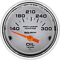 Autometer 200764-35 Oil Temperature Gauge - Air-Core, Universal