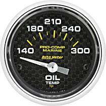 Autometer 200764-40 Oil Temperature Gauge - Air-Core, Universal