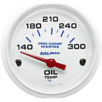 Autometer 200764 Oil Temperature Gauge - Air-Core, Universal