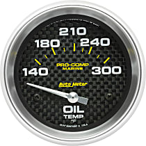 Autometer 200765-40 Oil Temperature Gauge - Air-Core, Universal