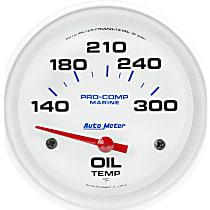 Autometer 200765 Oil Temperature Gauge - Air-Core, Universal