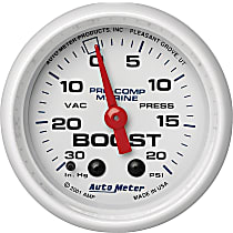 Autometer 200774 Boost Gauge - Mechanical, Universal, Sold individually