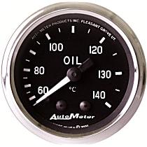 Autometer 201008 Oil Temperature Gauge - Mechanical, Universal