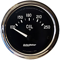 201018 Oil Temperature Gauge - Electric Air-Core, Universal