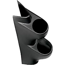 Autometer 20428 Gauge Pod - Black, Direct Fit, Sold individually