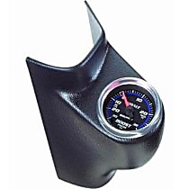 Autometer 20431 Gauge Pod - Black, Plastic, Direct Fit, Sold individually