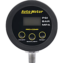 Autometer 2167 Tire Pressure Gauge - Digital, Universal, Sold individually