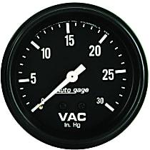 Autometer 2317 Vacuum Gauge - Mechanical, Universal