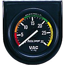 Autometer 2337 Vacuum Gauge - Mechanical, Universal