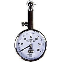 2343 Tire Pressure Gauge - Mechanical, Universal, Sold individually