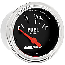 Autometer 2515 Fuel Gauge - Electric, Universal, Sold individually