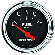 Autometer 2517 Fuel Gauge - Electric, Universal, Sold individually