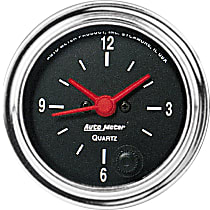 Autometer 2585 Clock - Electric, 12 Hour, Universal