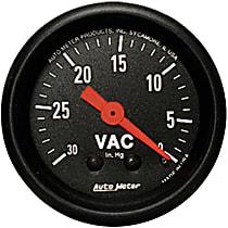 Autometer 2610 Vacuum Gauge - Mechanical, Universal
