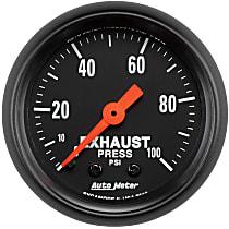 2619 Exhaust Pressure Gauge - Mechanical, Universal