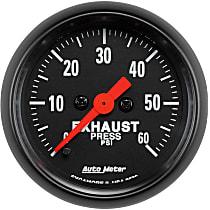 2672 Exhaust Pressure Gauge - Mechanical, Universal