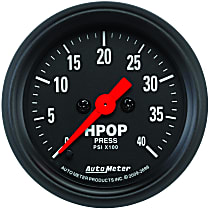 Autometer 2696 Oil Pressure Gauge - Electric Digital Stepper Motor, Direct Fit, Sold individually