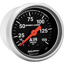 3320 Air Pressure Gauge - Mechanical, Universal, Sold individually