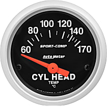 3336-M Cylinder Head Temperature Gauge - Electric, Universal
