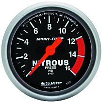 Autometer 3374 Nitrous Pressure Gauge - Electric, Universal
