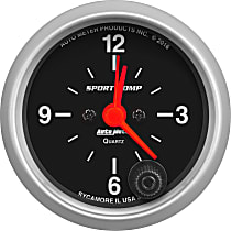 Autometer 3385 Clock - Electric, 12 Hour, Universal