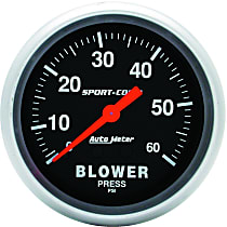 3402 Blower Pressure Gauge - Mechanical, Universal